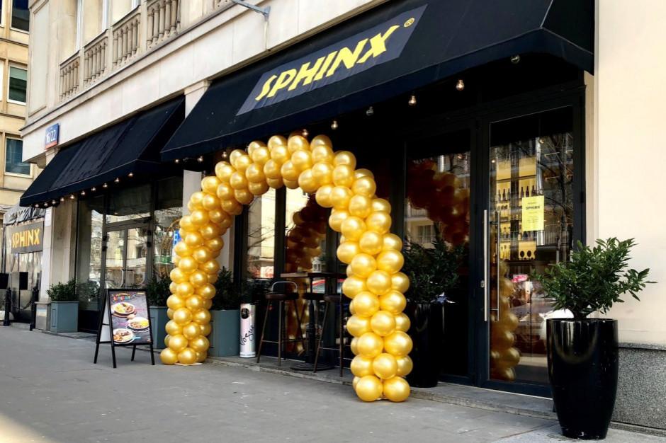 Sfinks chce uruchomić 20 nowych restauracji