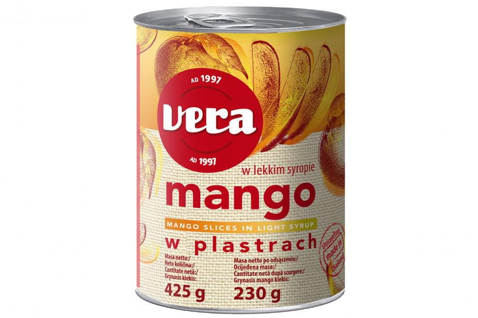 Mango w plastrach
