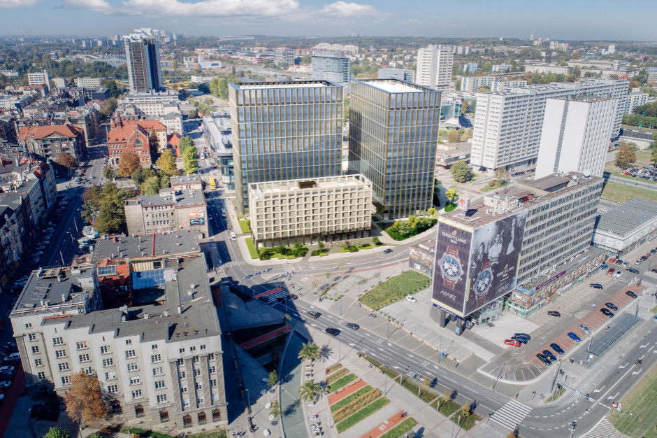 Katowice: Ruszyła rozbiórka hotelu Silesia