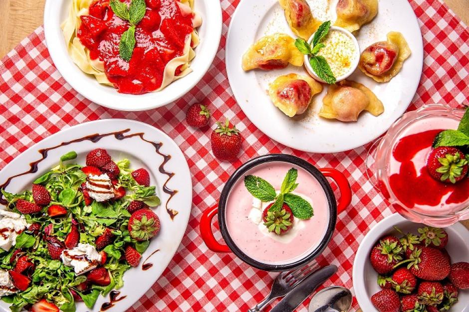 Truskawki królują w menu restauracji grupy Jarczyński