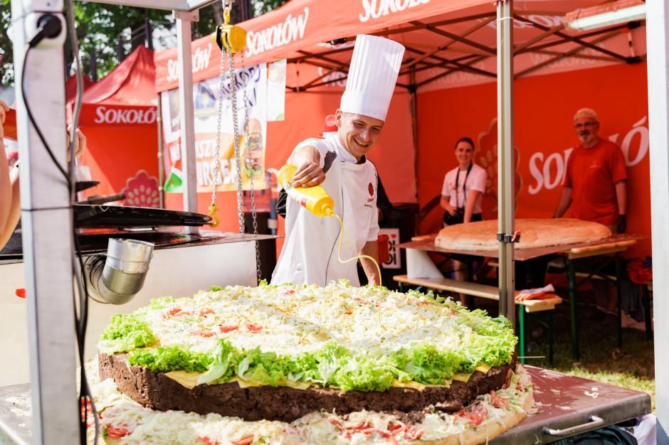 Sokołów ustanowił nowy rekord Polski na największego burgera