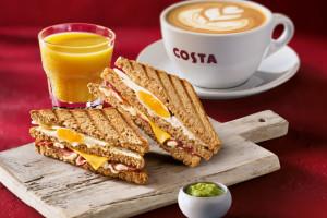 Costa Coffee wprowadza nową ofertę śniadaniową