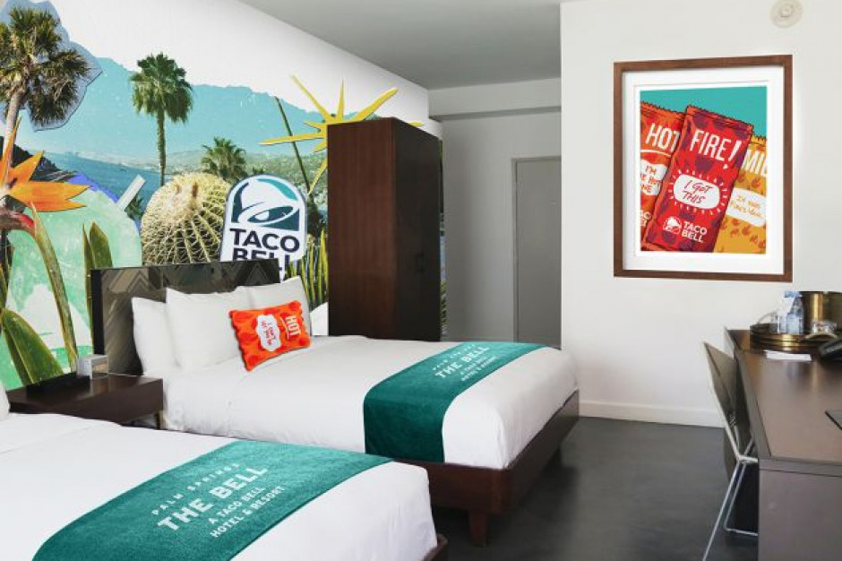 Taco Bell otwiera hotel. Rezerwacje wyprzedały się w 2 minuty