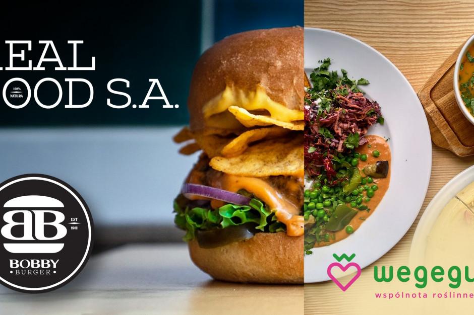 Real Food z Bobby Burger i Wegeguru chce mieć ponad 61 mln zł obrotu rocznie