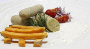 Kiełbaski brokułowo-marchewkowe z karpia nagrodzone w Paryżu