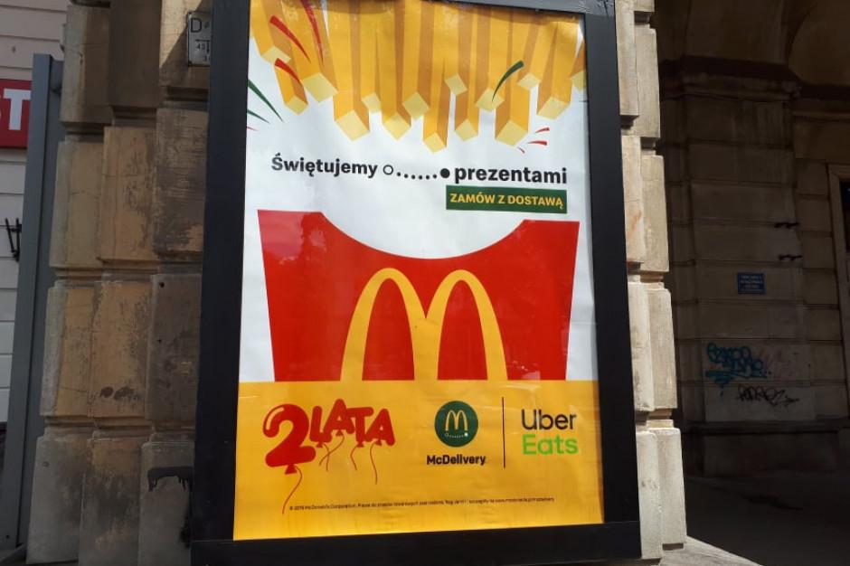 McDonald's obchodzi drugie urodziny McDelivery