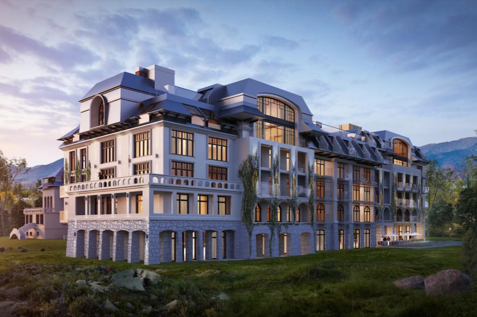 W Zakopanem powstaje Nosalowy Park Hotel & SPA