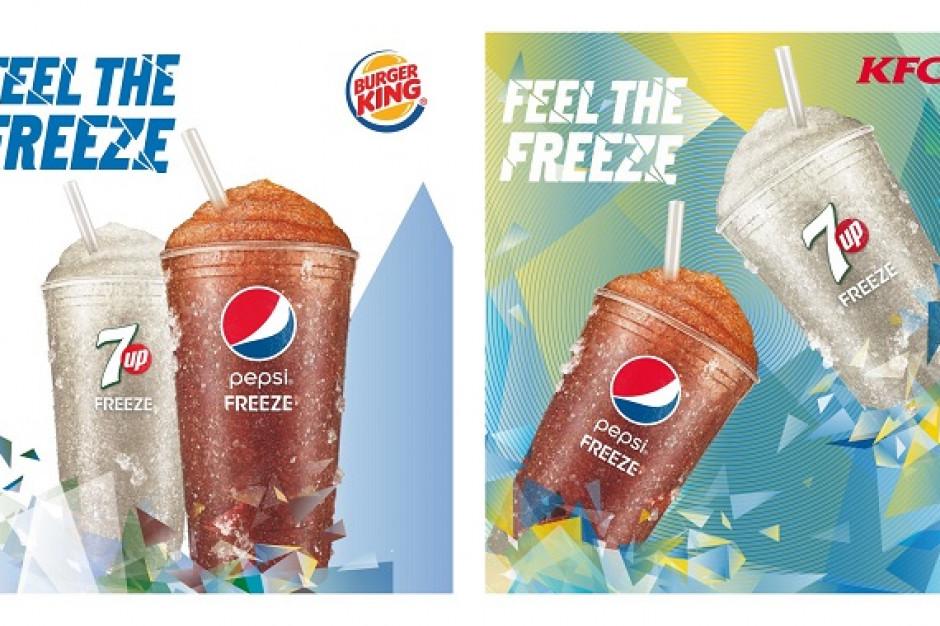 Burger King i KFC testują Pepsi Freeze oraz 7UP Freeze
