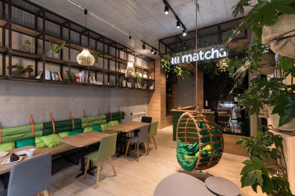Na poznańskich Jeżycach powstała zielona kawiarnia Matcha