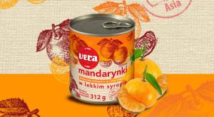 Mandarynki segmenty w lekkim syropie VERA