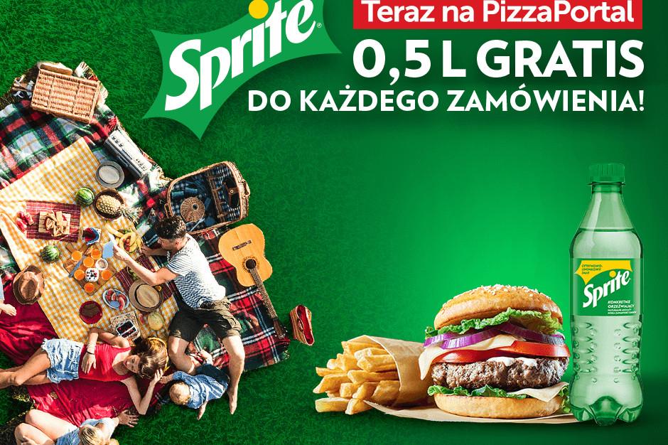 PizzaPortal.pl we wspólnej akcji z napojami Sprite