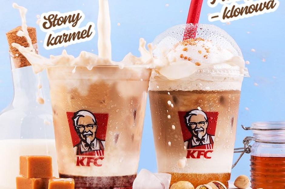 KFC poszerza swoją letnią ofertę o kawy na zimno