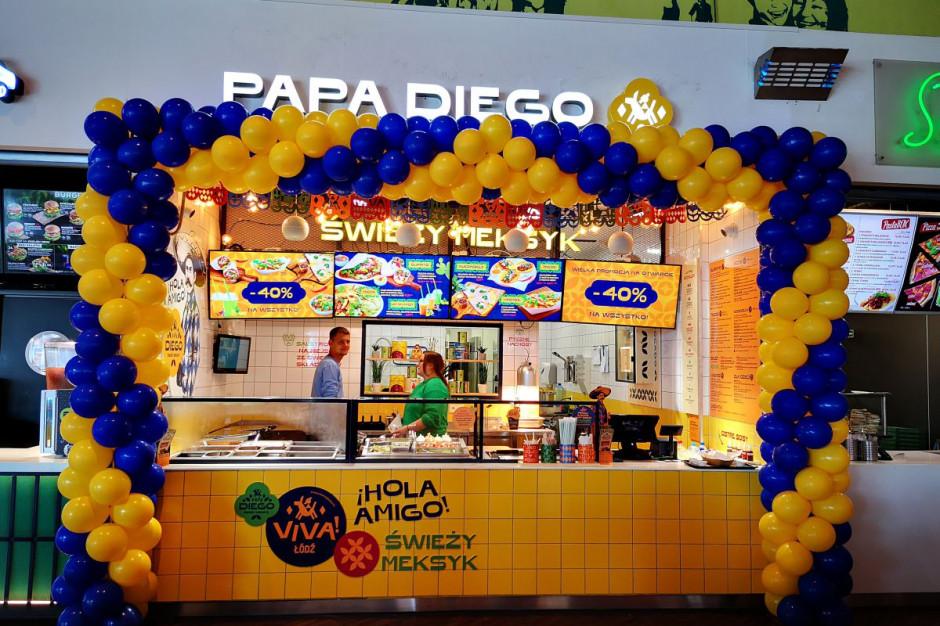 Papa Diego otwiera swój pierwszy lokal w Łodzi