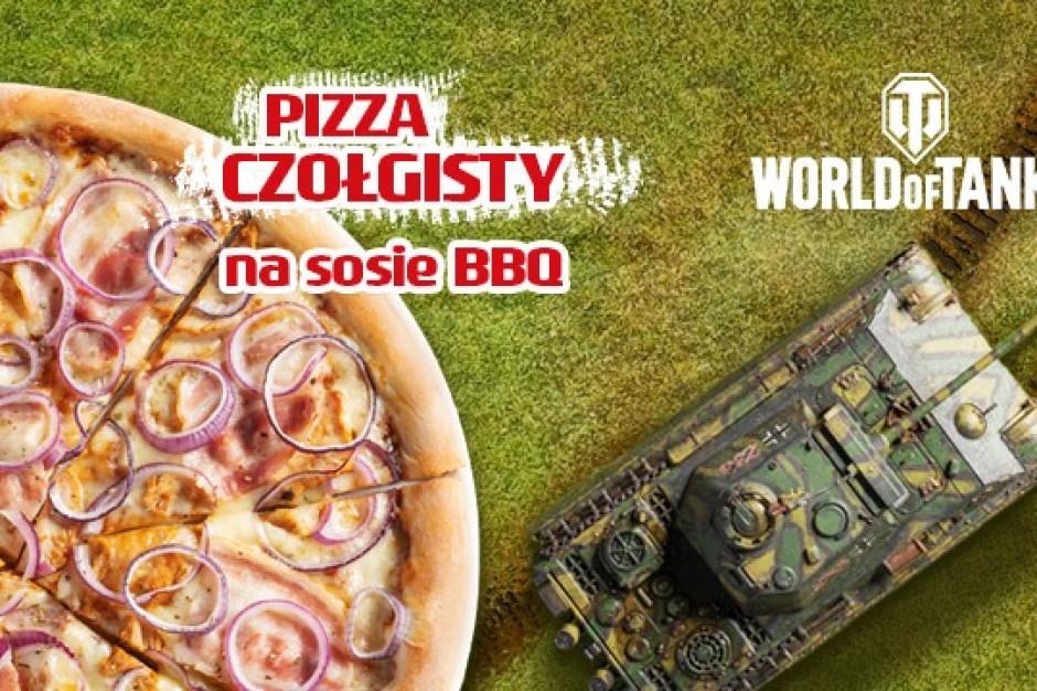 Da Grasso stworzyła Pizzę Czołgisty dla fanów World of Tanks