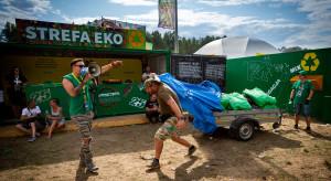Podczas Pol'And'Rock zebrano ponad 3 tony odpadów nadających się do recyklingu