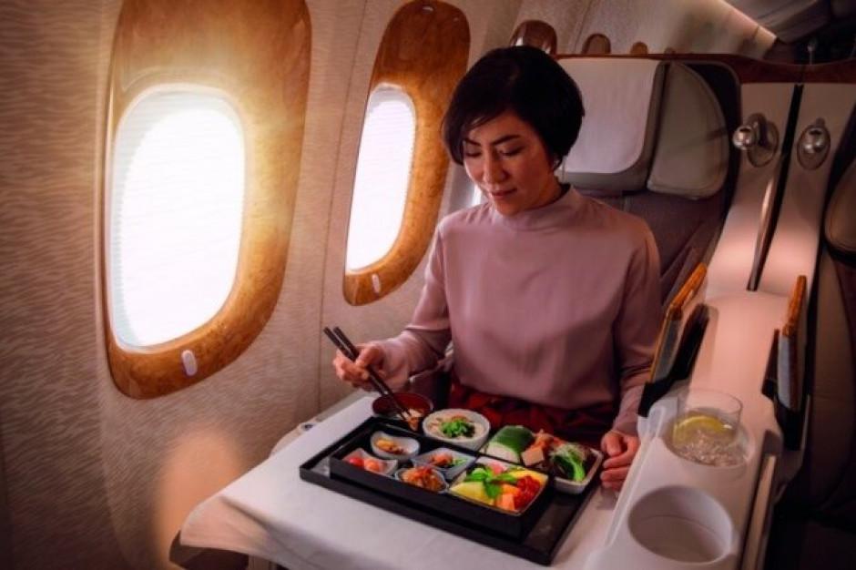 Linie Emirates serwują smaki Azji