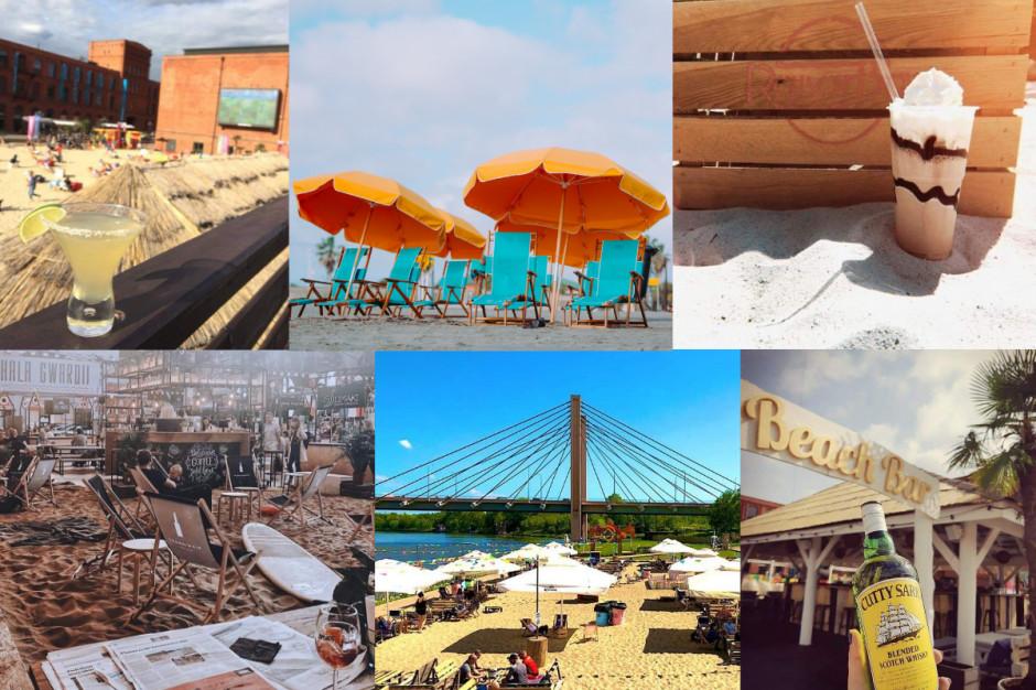 Letnie fantazje o rozgrzanym piasku, czyli miejskie beach bary - 6 inspiracji