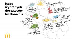 McDonald's szczyci się swoimi dostawcami