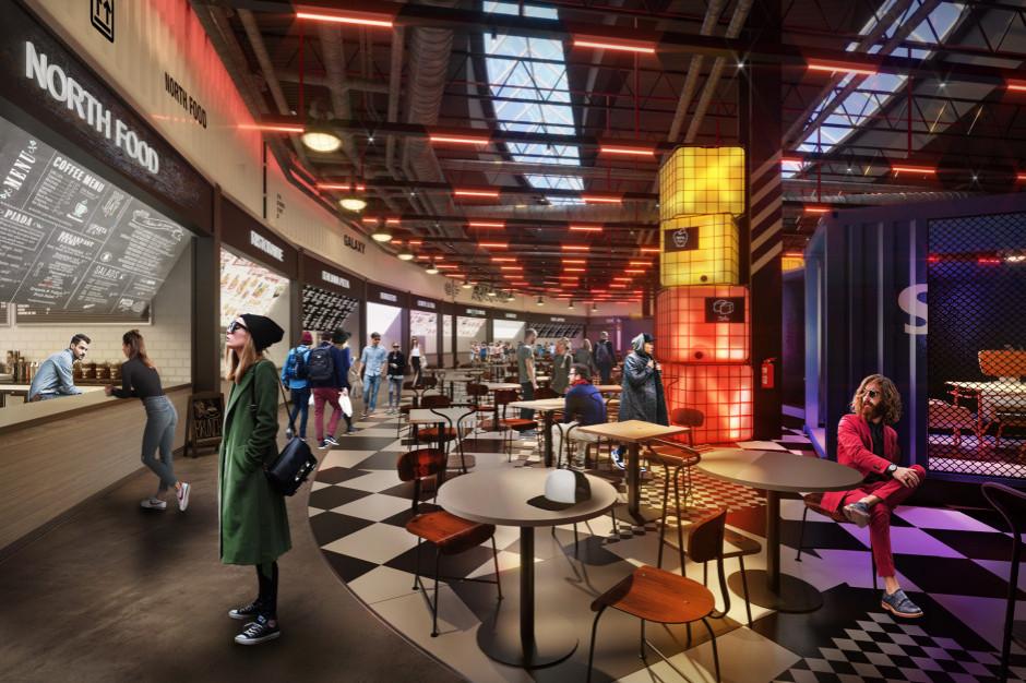 Centrum Galaxy remontuje food court. Nowi najemcy i nowy design