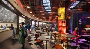 Centrum Galaxy remontuje food court. Nowi najemcy i nowy design