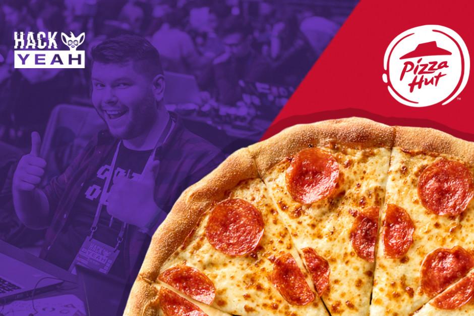 Pizza Hut podjęła wyzwanie i dostarczy 3000 pizz na 24-godzinny maraton programowania