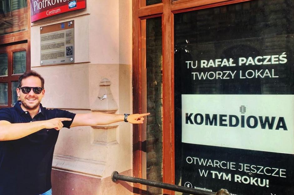 Komik otwiera knajpę w Łodzi