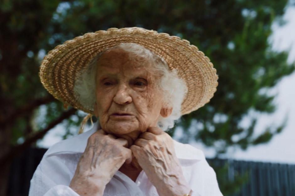 93-letnia wegeterianka w kampanii edukacyjnej RoślinnieJemy