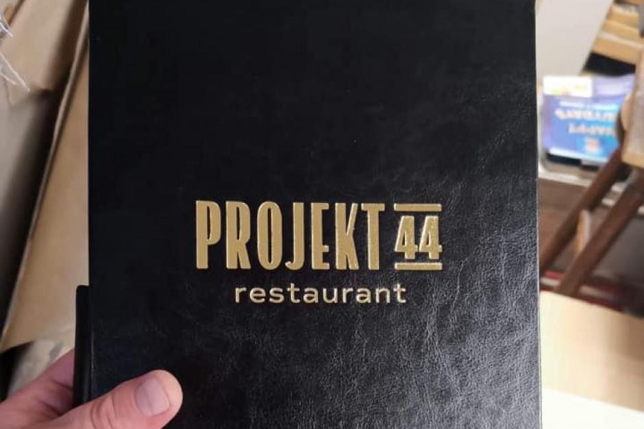 """Restauracje Krawczyk ruszają z """"Projektem 44"""""""