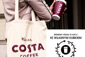 Costa Coffee dołącza do akcji #zwlasnymkubkiem
