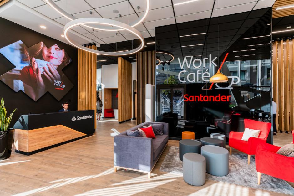 Bank otwiera kawiarnię i kusi przestrzenią coworkingową