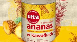 Ananas w kawałkach 3050g VERA