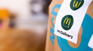 Nie tylko Uber Eats. McDonald's rozwija McDelivery (wywiad)