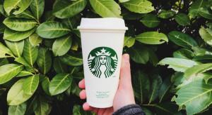 Starbucks: Sprzedaż napojów we własnym kubku dwukrotnie wzrosła