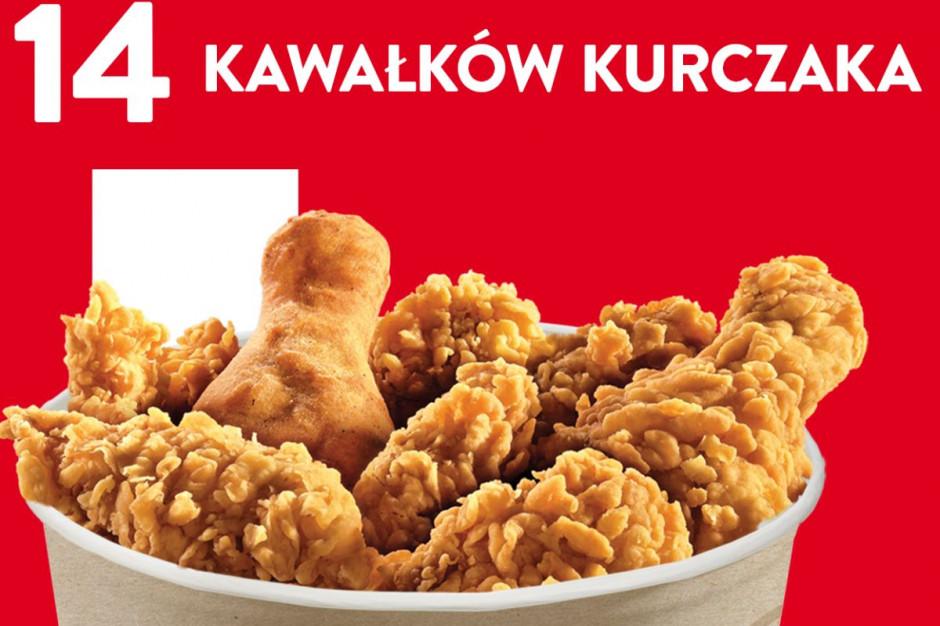 """KFC z promocją """"wtorkowy kubełek"""""""