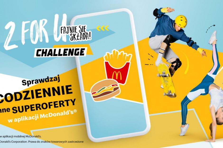 McDonald's ruszył z kampanią 2 for U Challenge