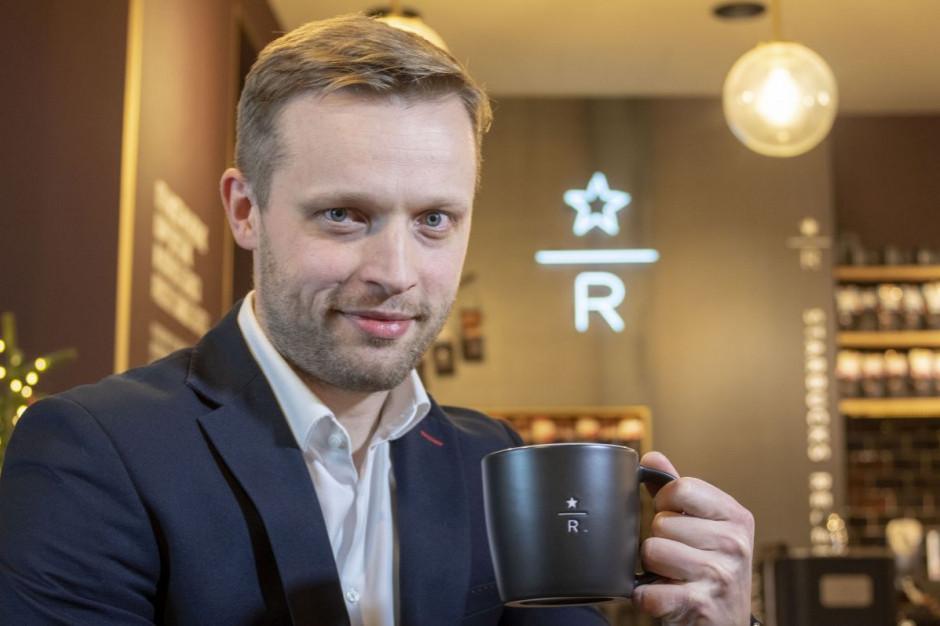 Mateusz Sielecki został Brand Presidentem Starbucks