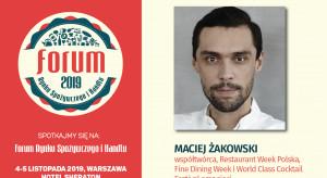 MENU GŁÓWNE czyli kwestionariusz horecatrends.pl: Maciek Żakowski - prelegent FRSiH
