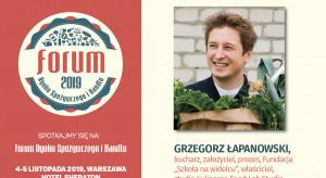 MENU GŁÓWNE czyli kwestionariusz horecatrends.pl: Grzegorz Łapanowski - prelegent FRSiH 2019!