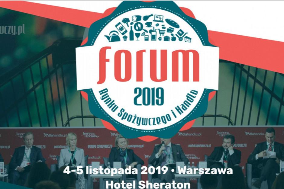 Forum Rynku Spożywczego i Handlu już 4-5 listopada. Zapraszamy na inspirujące spotkania m.in. dot. rynku HoReCa