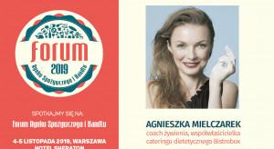 Agnieszka Mielczarek prelegentką sesji #HorecaTrendsTalks podczas FRSiH 2019