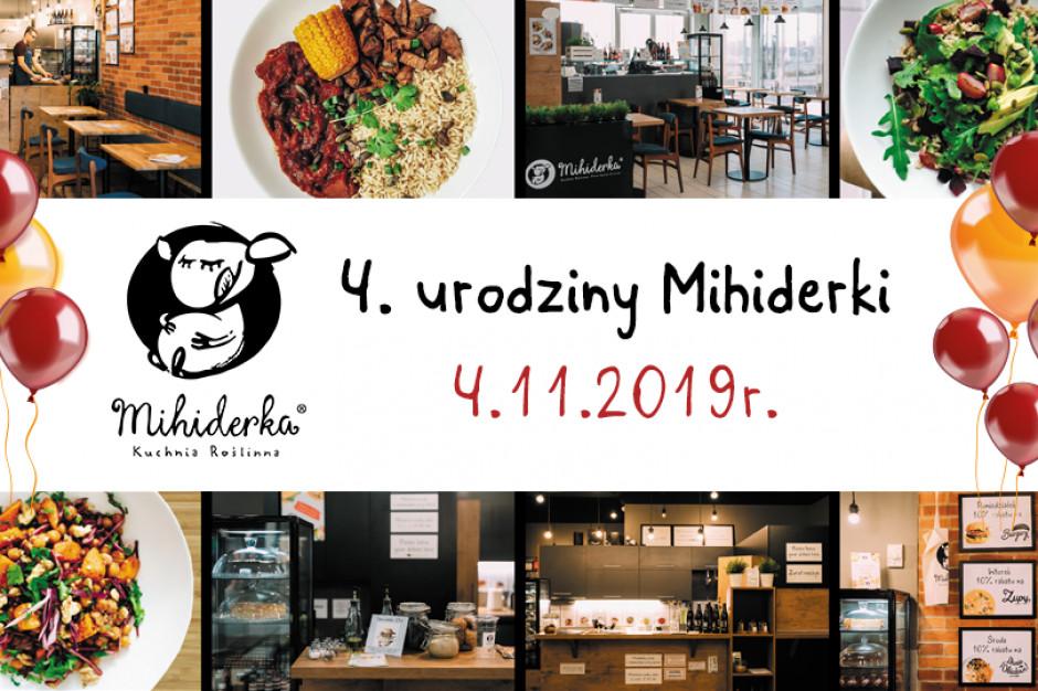 Mihiderka świętuje 4 urodziny i szuka inwestora