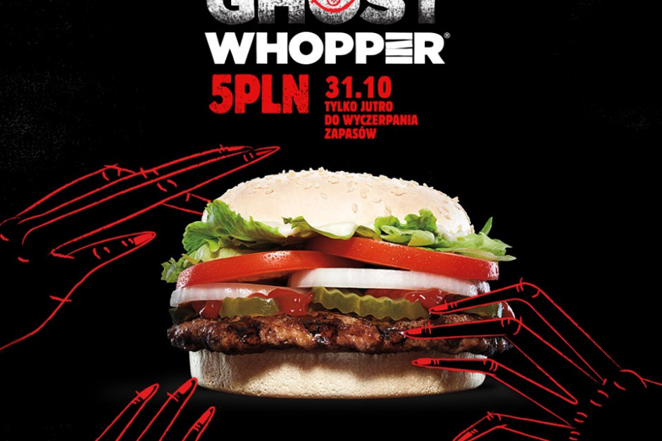 Ghost Whopper powrócił do Burger Kinga