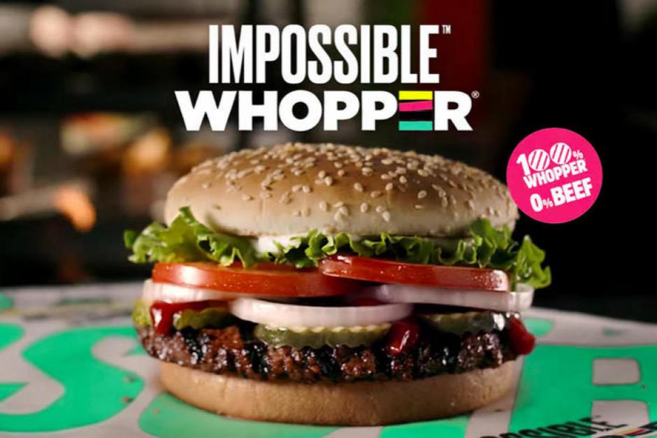 Burger King wprowadzi do europejskich restauracji dwa roślinne burgery