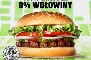 Burger King wprowadził do Polski burgera z roślinnym kotletem Rebel Whopper