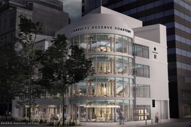 Starbucks otworzył swoją największą kawiarnię