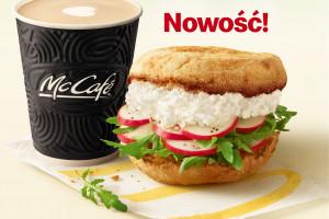 Twarożek z rzodkiewką nową kanapką w... McDonald's