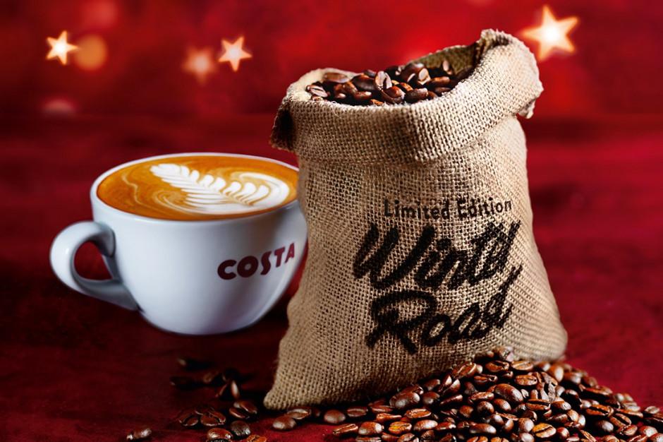 Costa Coffee przygotowała zimową mieszankę ziaren Winter Blend