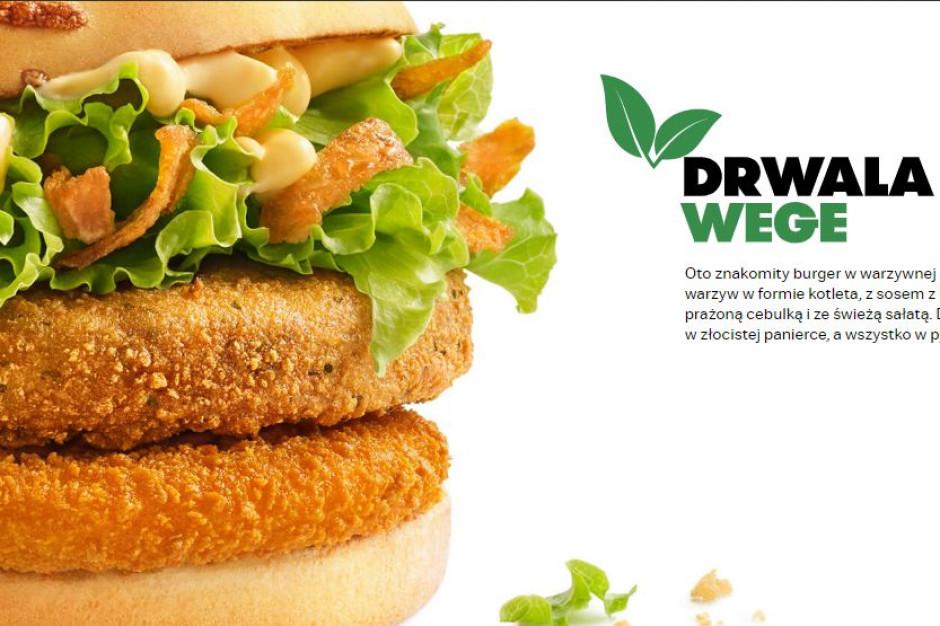 McDonald's po cichu wprowadza swojego pierwszego burgera wege