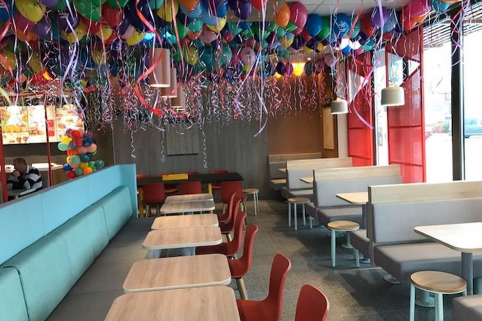 McDonald's uruchomił w Górze Kalwarii lokal w stylu Human Comfort