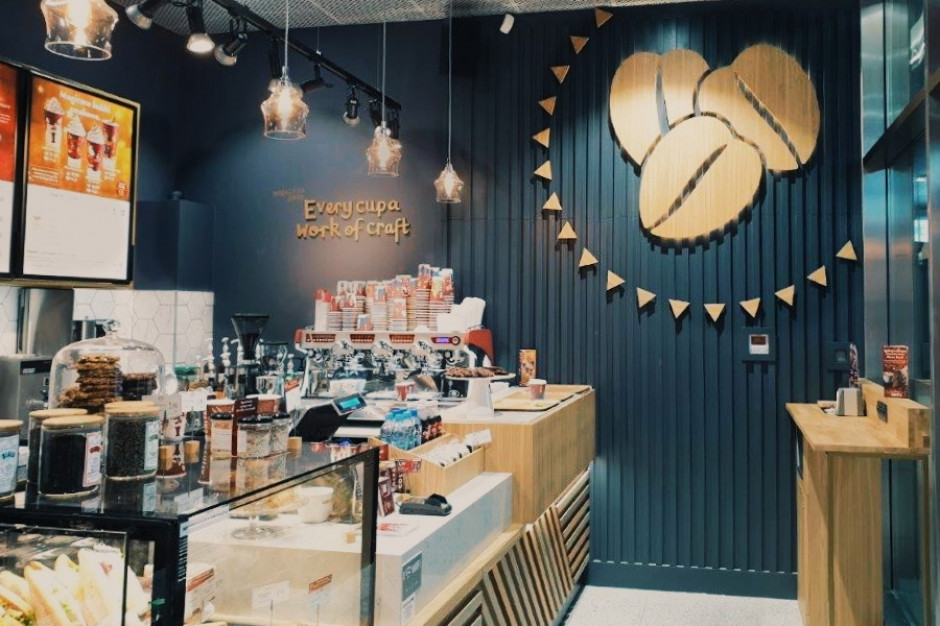 Costa Coffee otworzyła pierwszą podziemną przestrzeń z kawiarnią